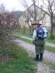 cestou do školy